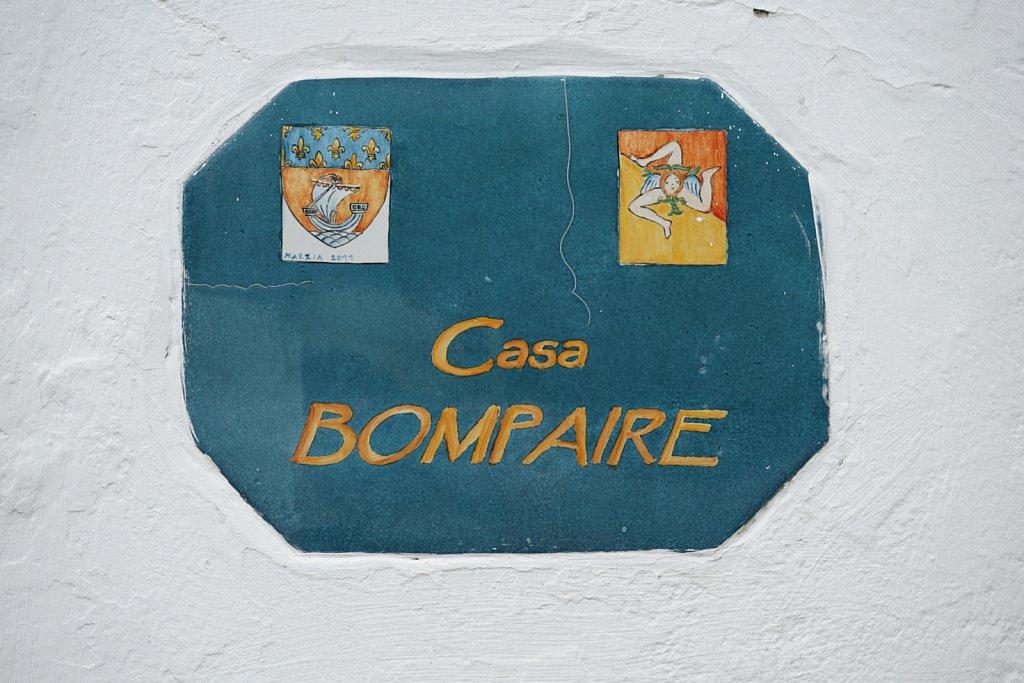 Nom des maisons à Stromboli