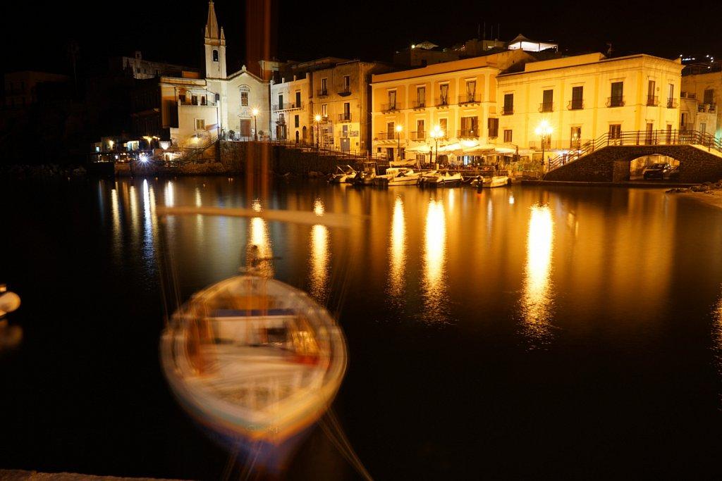 Vieux port de nuit